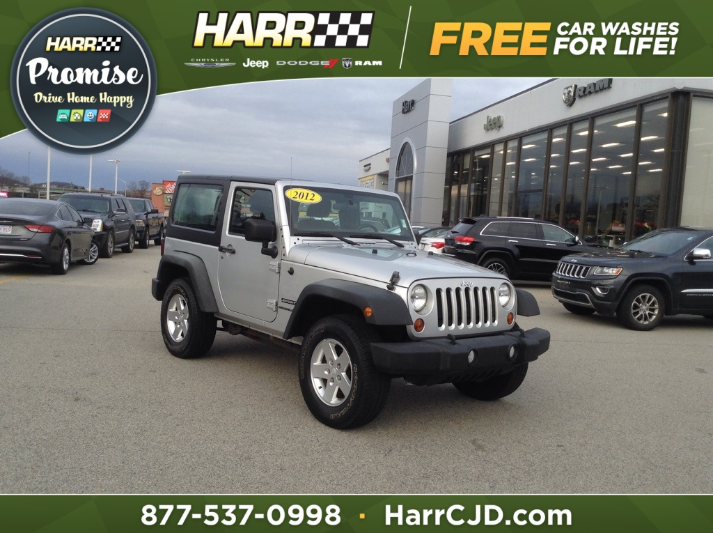Pre-Owned 2012 Jeep Wrangler Sport