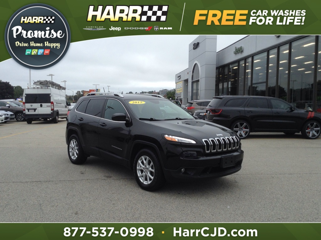 Certified Pre Owned 2015 Jeep Cherokee Latitude