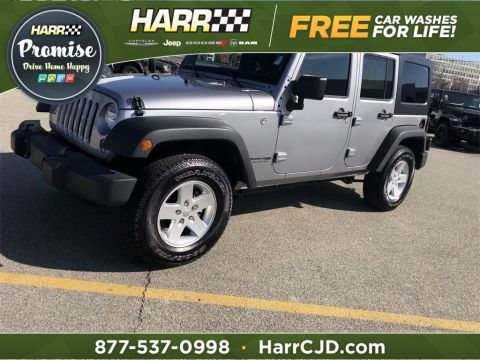 Pre-Owned 2018 Jeep Wrangler JK Unlimited Sport