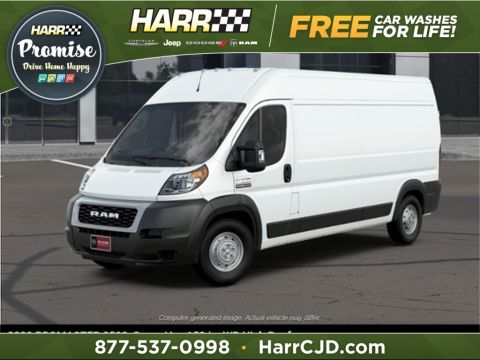 New 2020 RAM ProMaster High Roof FWD Cargo Van