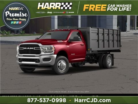 New 2019 RAM 3500 Chassis Cab Tradesman 4x4 Regular Cab