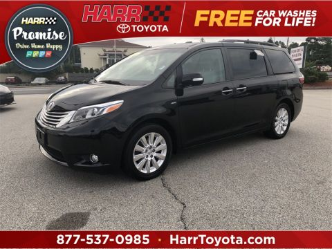 Pre-Owned 2016 Toyota Sienna Limited Premium